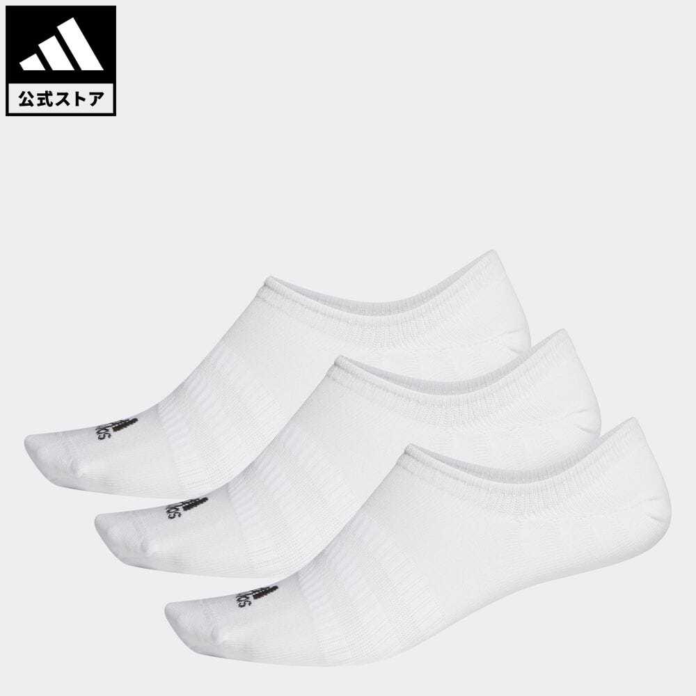 公式 アディダス adidas 返品可 ジム トレーニング ノーショー ソックス 3足組み No-Show 2020秋冬新作 Socks DZ9415 白 Pairs レディース 3 靴下 メンズ ホワイト 今だけ限定15%OFFクーポン発行中 アクセサリー シューズインソックス