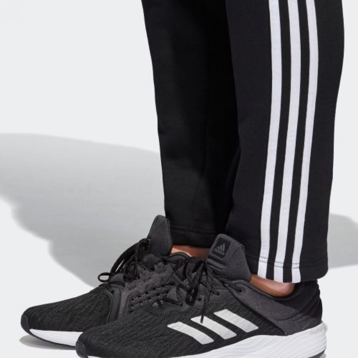 Adidas adidas M ESSENTIALS 3 stripe sweat shirt tapered pants (back raising) men's wear bottoms underwear, sweat shirt CZ7414