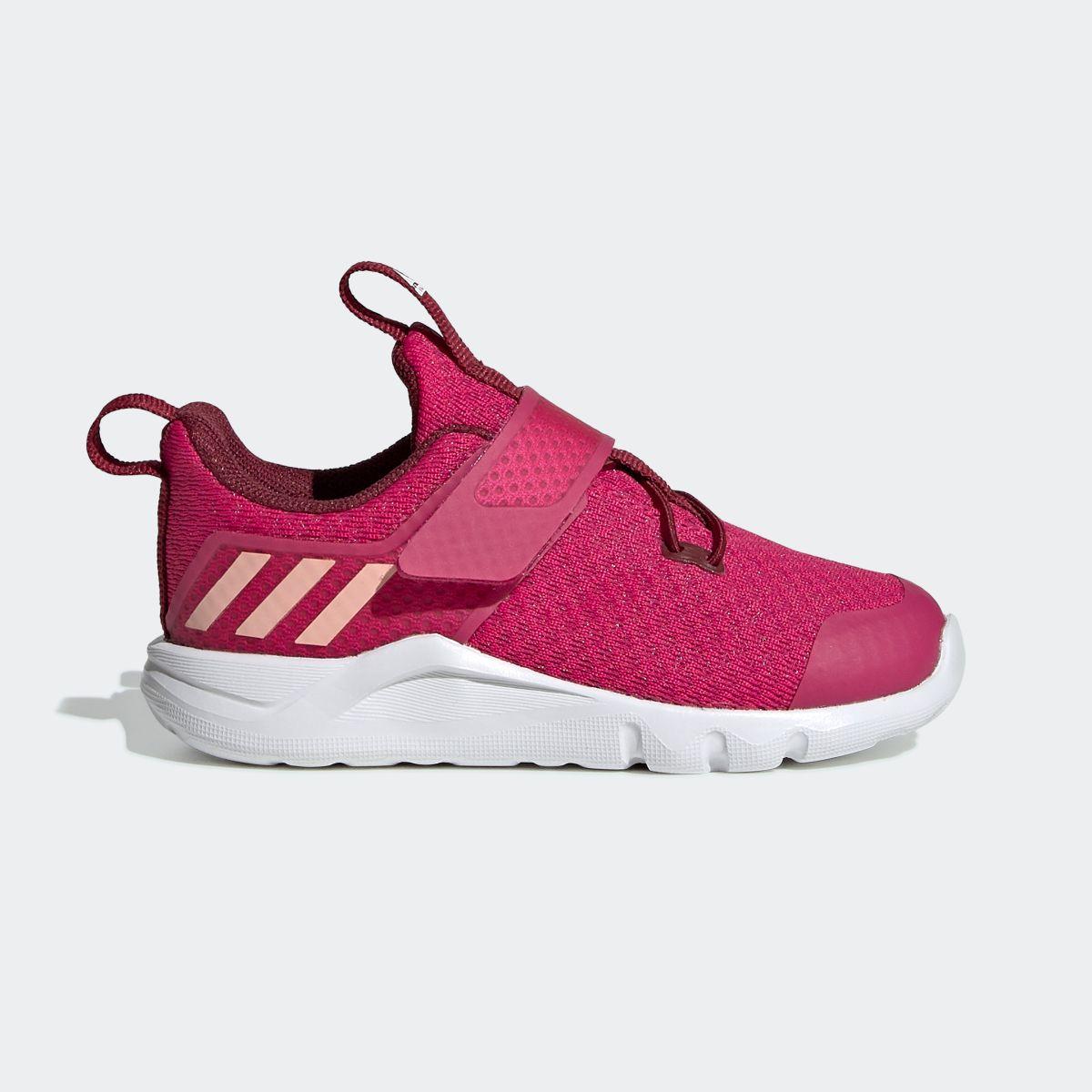Girls Pink adidas Rapidaflex El Sneakers Casual