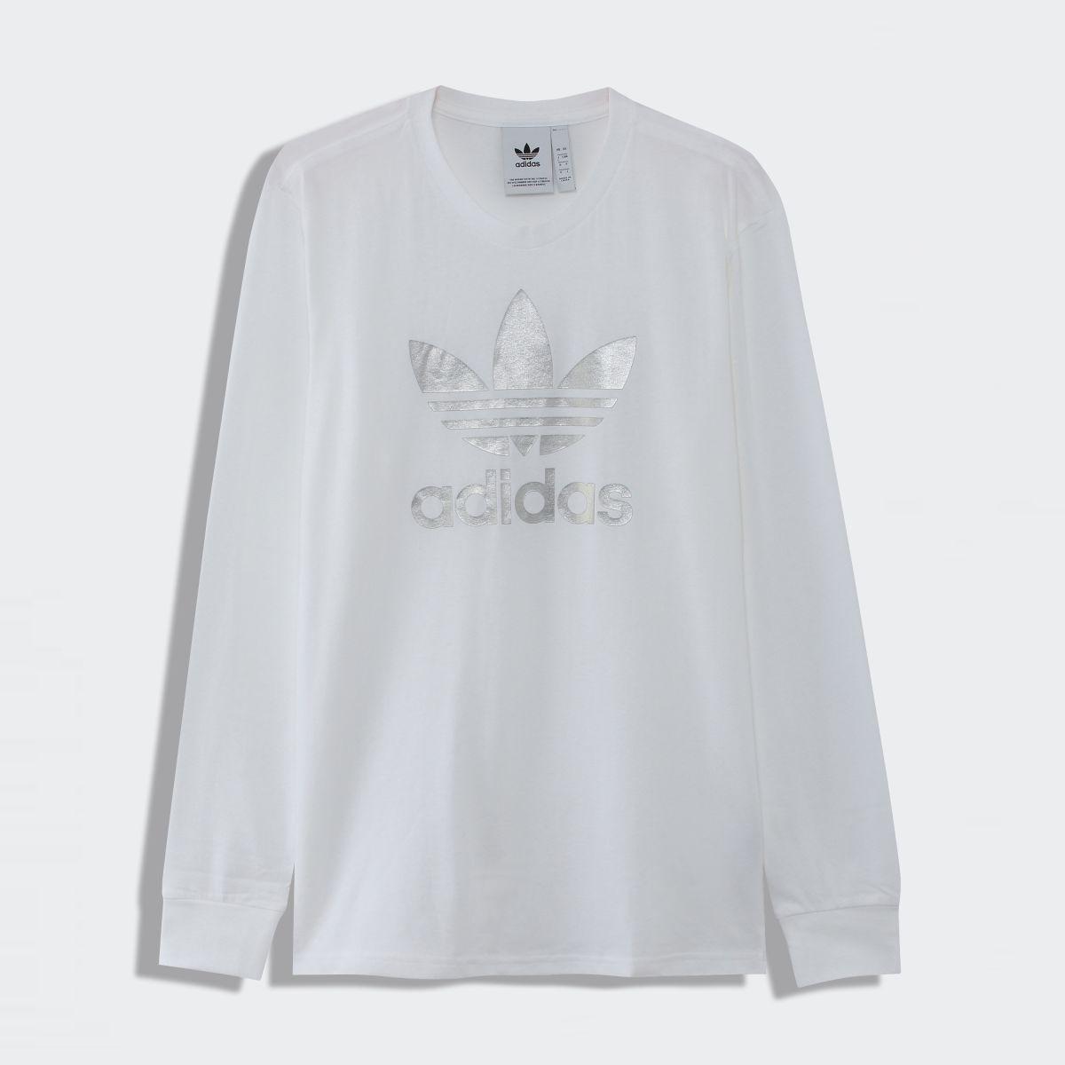 【公式】アディダス adidas トレフォイル ロゴ 長袖Tシャツ メンズ オリジナルス ウェア トップス Tシャツ GJ9808