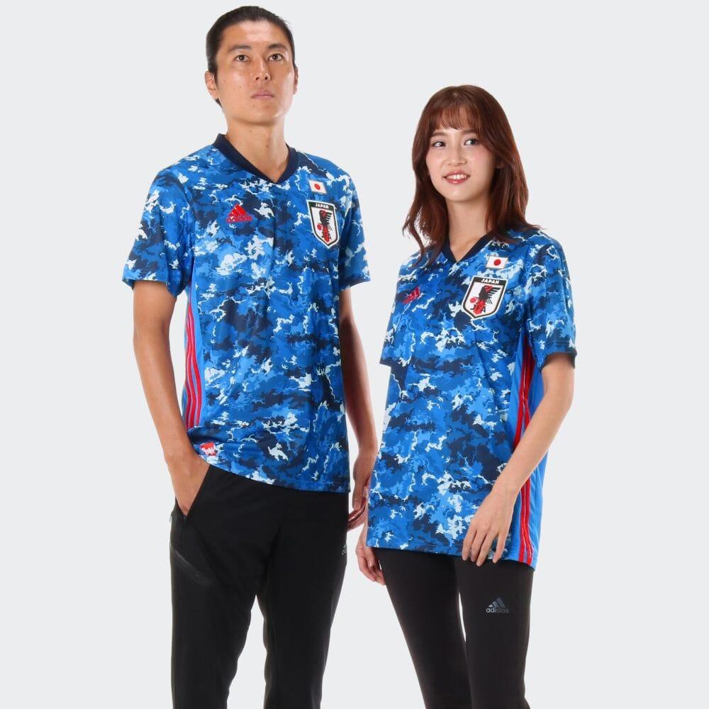 【公式】アディダス adidas サッカー日本代表 2020 レプリカ ホーム ユニフォーム / Japan Home Jersey メンズ サッカー ウェア トップス ユニフォーム ED7350