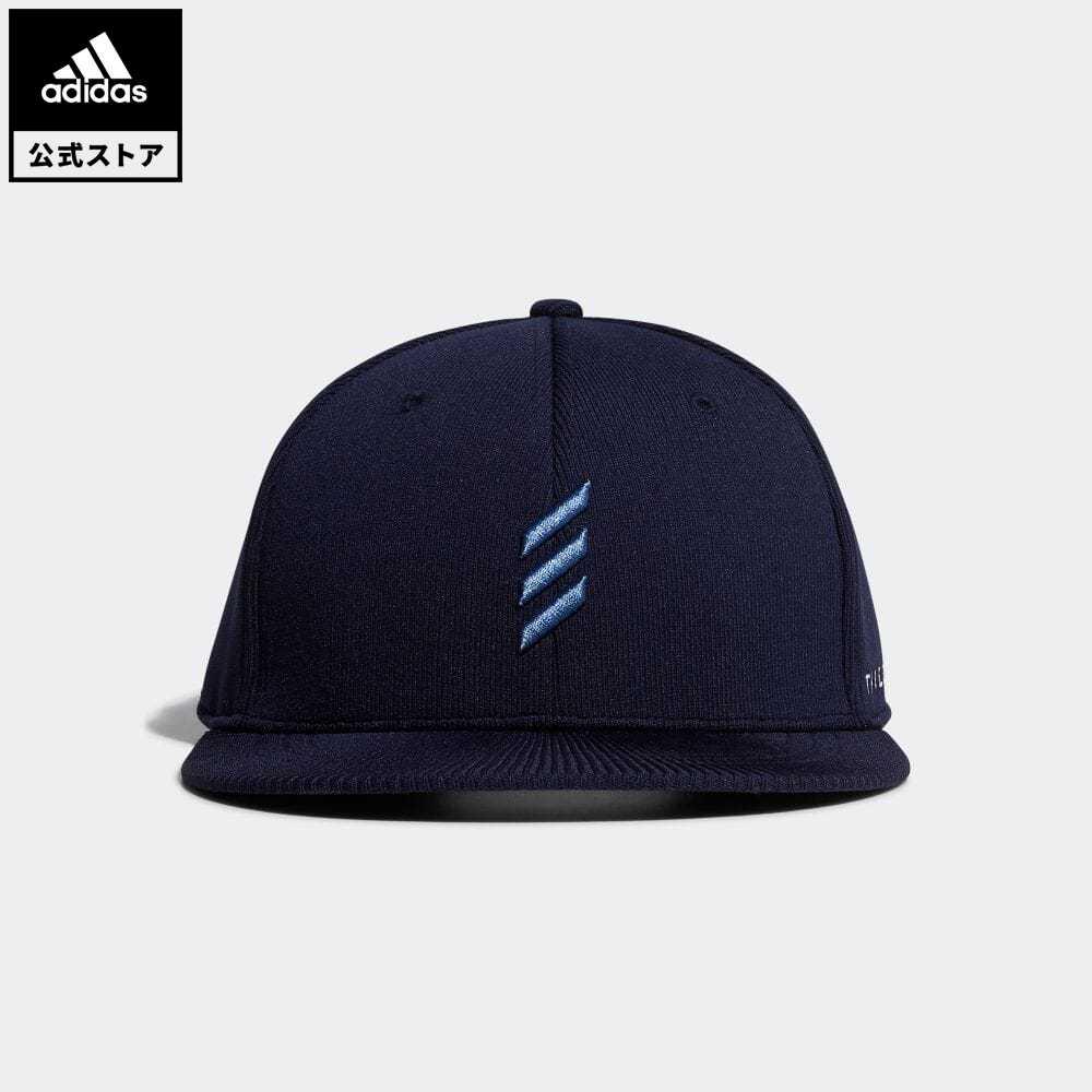 公式セール 世界の人気ブランド セール価格 アディクロスライン 公式 アディダス adidas 返品可 ゴルフ ADICROSS 気質アップ ニットフラットブリム Adicross レディース Cap Flat-Brim 青 notp メンズ アクセサリー 帽子 キャップ FM3025 ブルー
