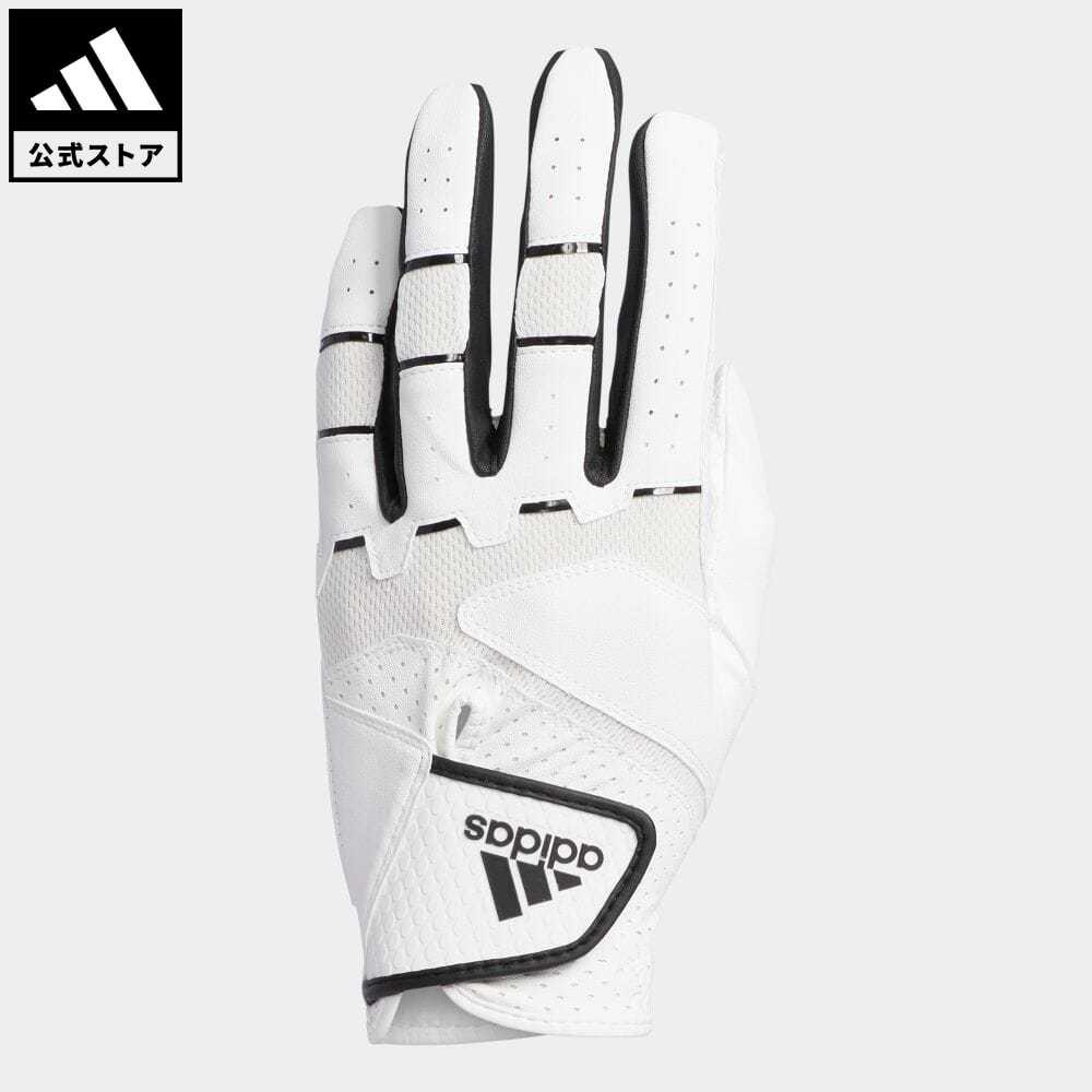 【公式】アディダス adidas 返品可 ゴルフ ノンスリップ20 グローブ/ Non-Slip Glove メンズ アクセサリー 手袋/グローブ 白 ホワイト FM3090 notp