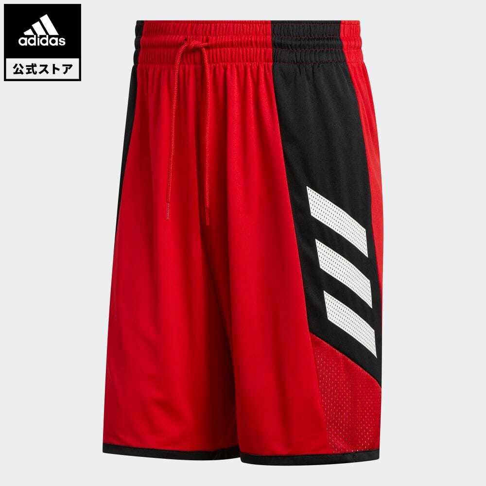公式セール セール価格 公式 アディダス adidas 返品可 バスケットボール 休み プロ マッドネス ショーツ Pro FL0928 Shorts メンズ 保障 レッド Madness ウェア ボトムス 服 赤 ハーフパンツ