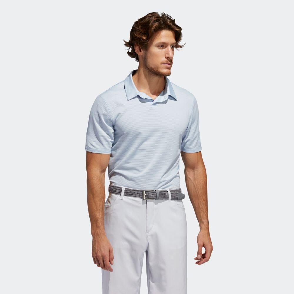 【公式】アディダス adidas PRIME BLUE 半袖スキッパーシャツ【ゴルフ】 メンズ ゴルフ ウェア トップス ポロシャツ FJ6727 p0525