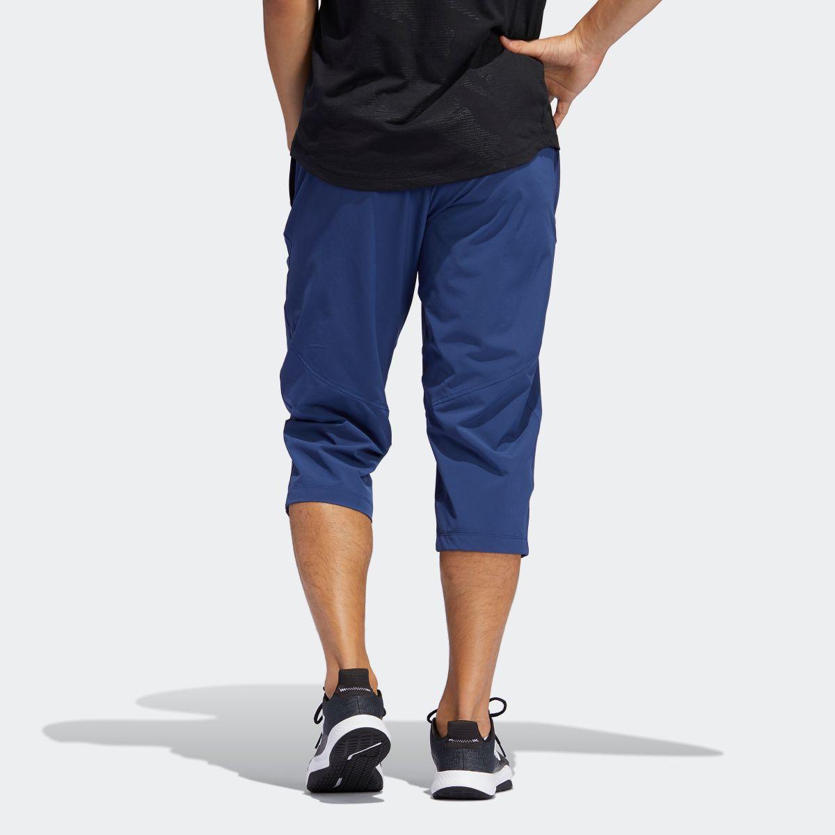 3 4 training pants adidas