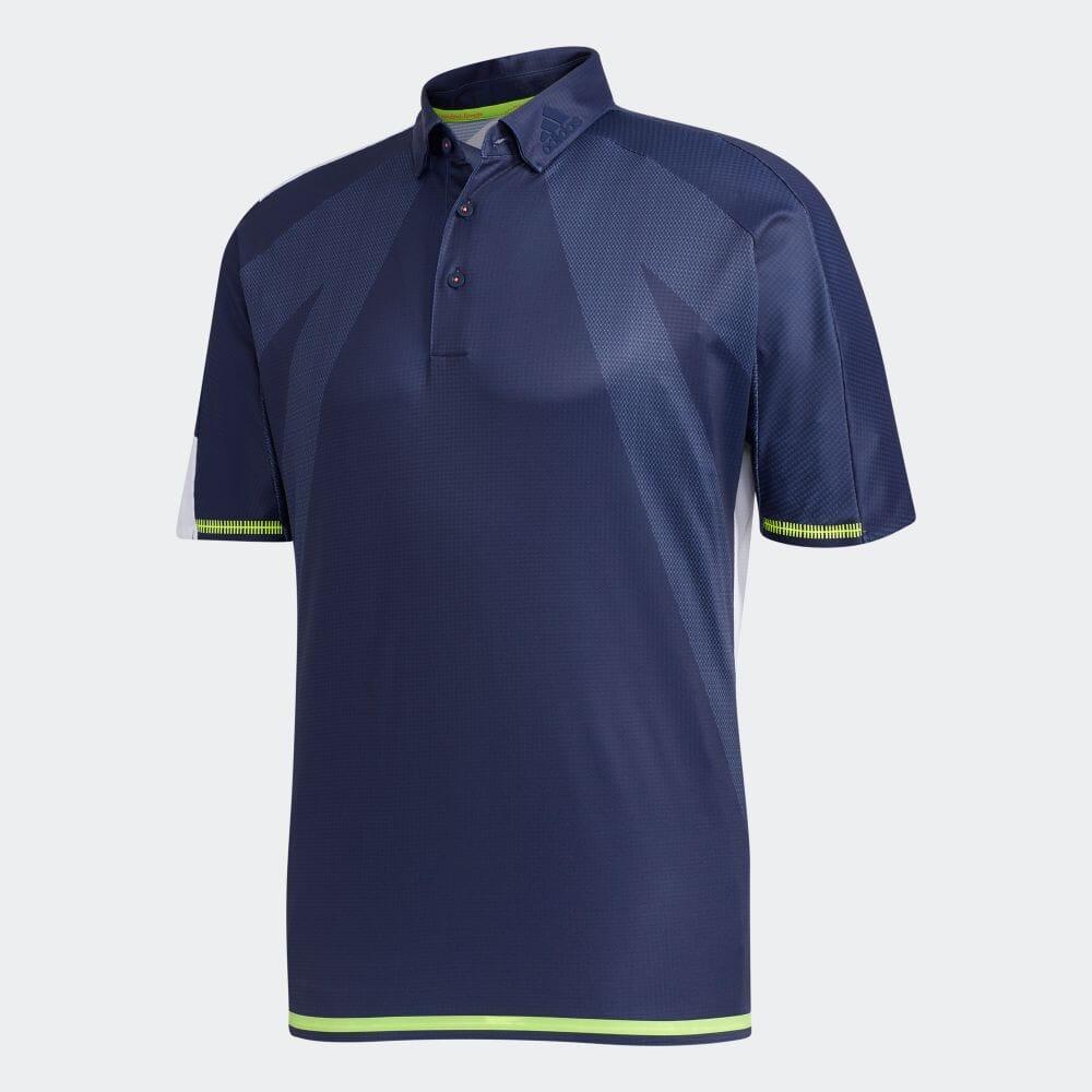 【公式】アディダス adidas シングルパネル 半袖ボタンダウンシャツ【ゴルフ】 メンズ ゴルフ ウェア トップス ポロシャツ FJ3802