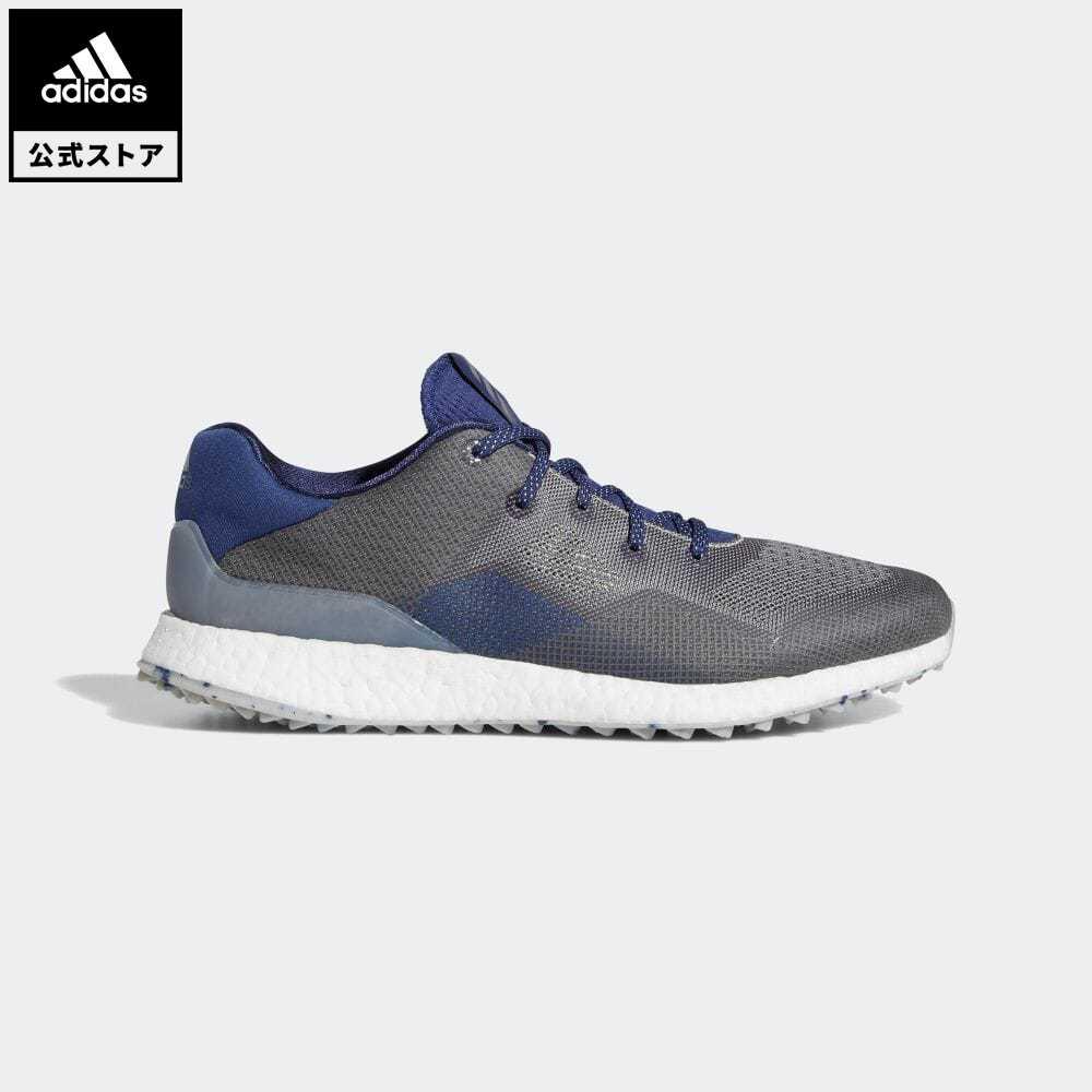 送料無料 メーカー直送 公式セール アウトレット価格 公式 アディダス adidas 返品可 ゴルフ クロスニット DPR シューズ Crossknit スポーツシューズ Golf 靴 ☆正規品新品未使用品 Shoes メンズ EE9132 notp グレー