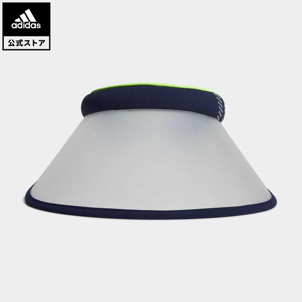 公式セール 新品未使用 セール価格 公式 アディダス adidas 返品可 ゴルフ ウィメンズ UVクリップバイザー ブルー サンバイザー 現品 帽子 notp FM3189 青 アクセサリー レディース