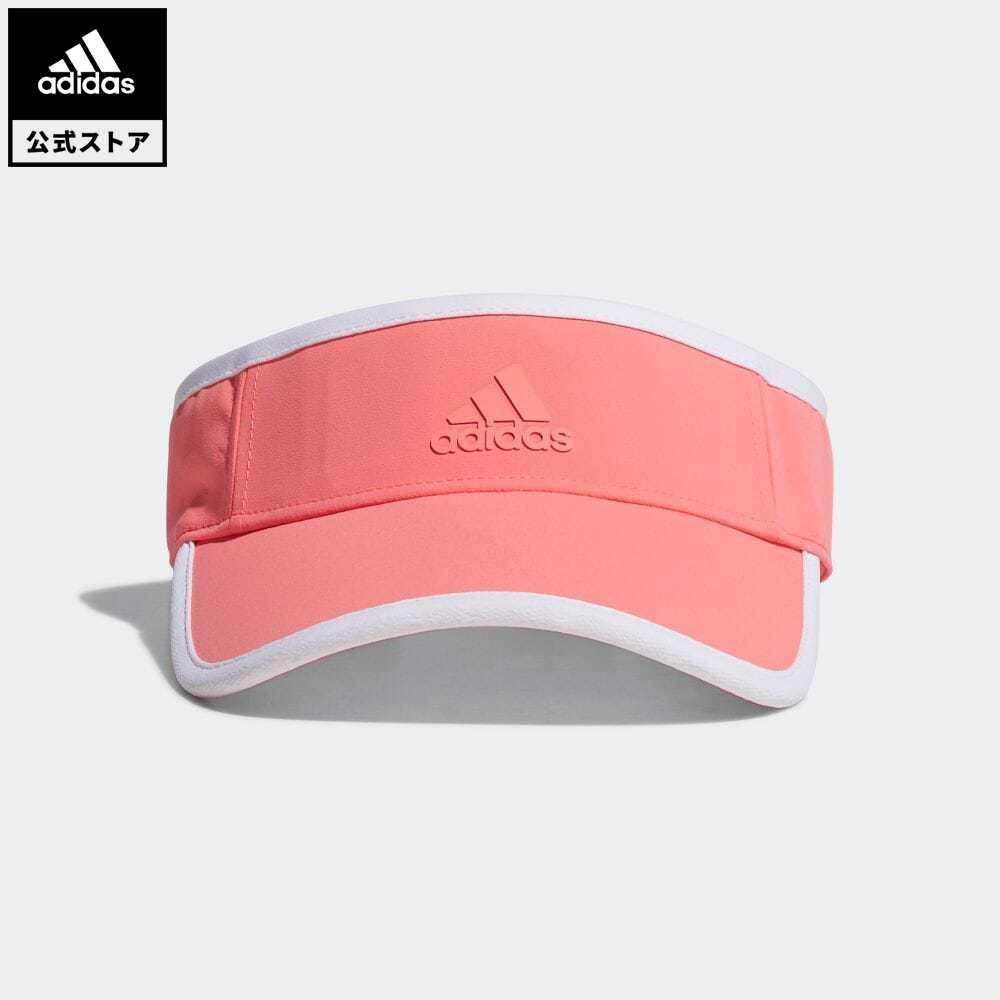 公式セール セール価格 公式 アディダス adidas 返品可 ゴルフ ウィメンズ 有名な HEATREADY 赤 レッド サンバイザー notp UVバイザー 帽子 レディース FM3191 アクセサリー まとめ買い特価