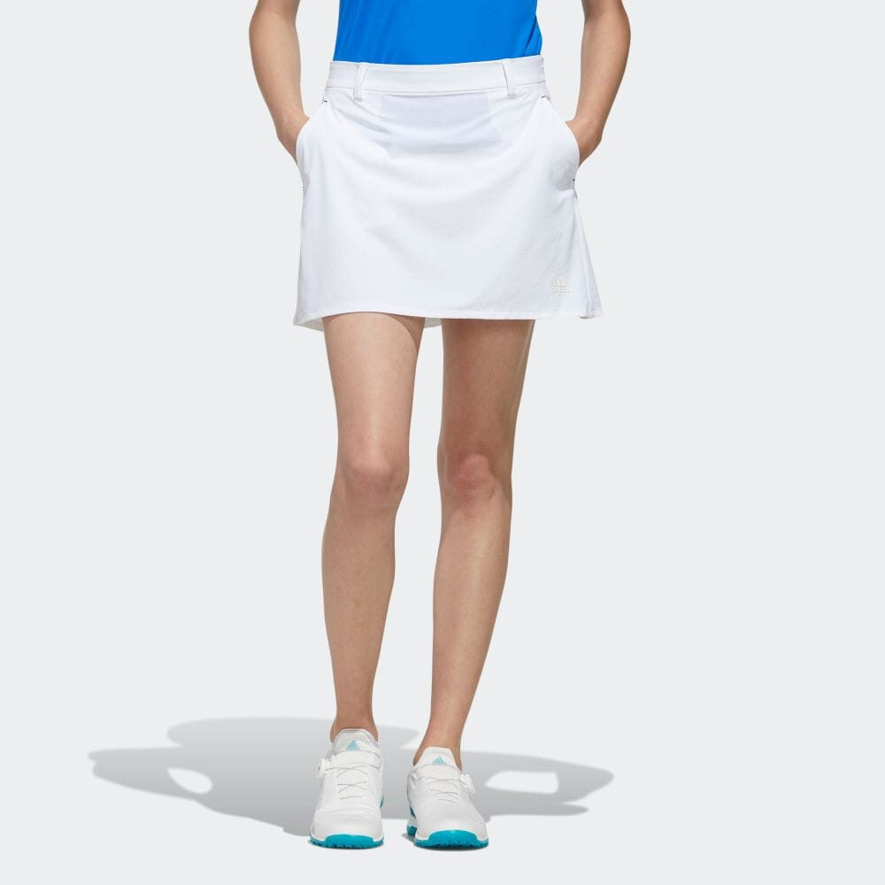 【公式】アディダス adidas バックロゴ フレアスコート【ゴルフ】 レディース ゴルフ ウェア ボトムス スカート FJ4394
