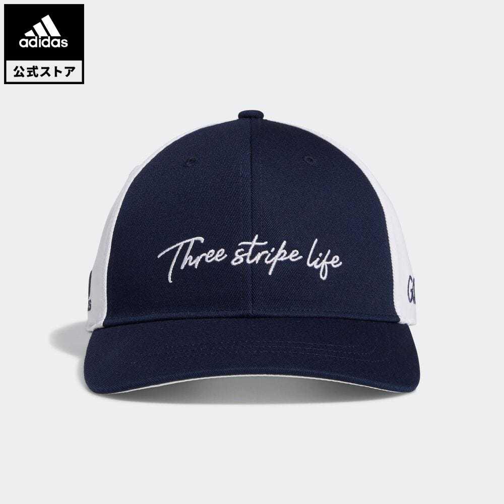 公式セール セール価格 公式 アディダス adidas 返品可 ゴルフ 3ストライプライフ キャップ 3-Stripe 特別セール品 帽子 メンズ Life 超歓迎された 青 ブルー mss21fw Cap GD8776 notp アクセサリー
