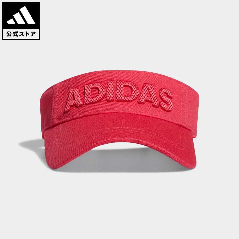 公式 アディダス adidas 返品可 驚きの値段 ゴルフ ウィメンズ ツイルバイザー 最安値挑戦 Capital notp Visor 帽子 サンバイザー レディース GD8819 ピンク アクセサリー