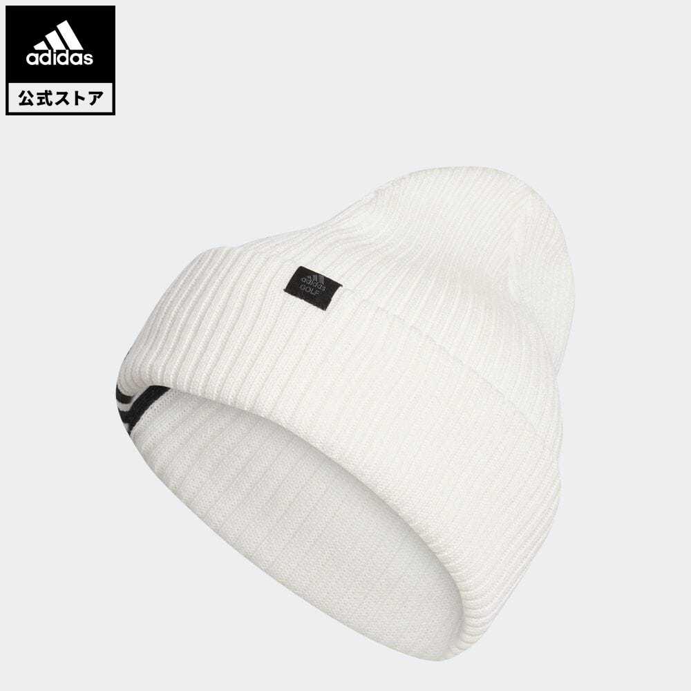 期間限定 さらに30%OFF 9 有名な 4 20:00~9 11 1:59 マーケティング officialsale0904 公式 アディダス adidas 返品可 ゴルフ 3ストライプ ニット帽 notp ビーニー GD8823 帽子 白 ホワイト アクセサリー Beanie Knit 3-Stripes ニットビーニー レディース