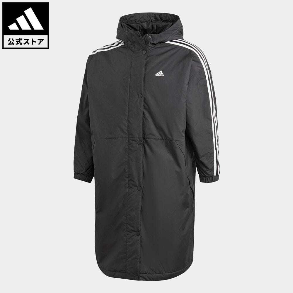 <title>送料無料 公式セール セール価格 公式 アディダス adidas 返品可 アウトドア インサレーテッドコート Insulated Coat レディース ウェア 服 アウター ジャケット 黒 ブラック 送料込 GF0025</title>