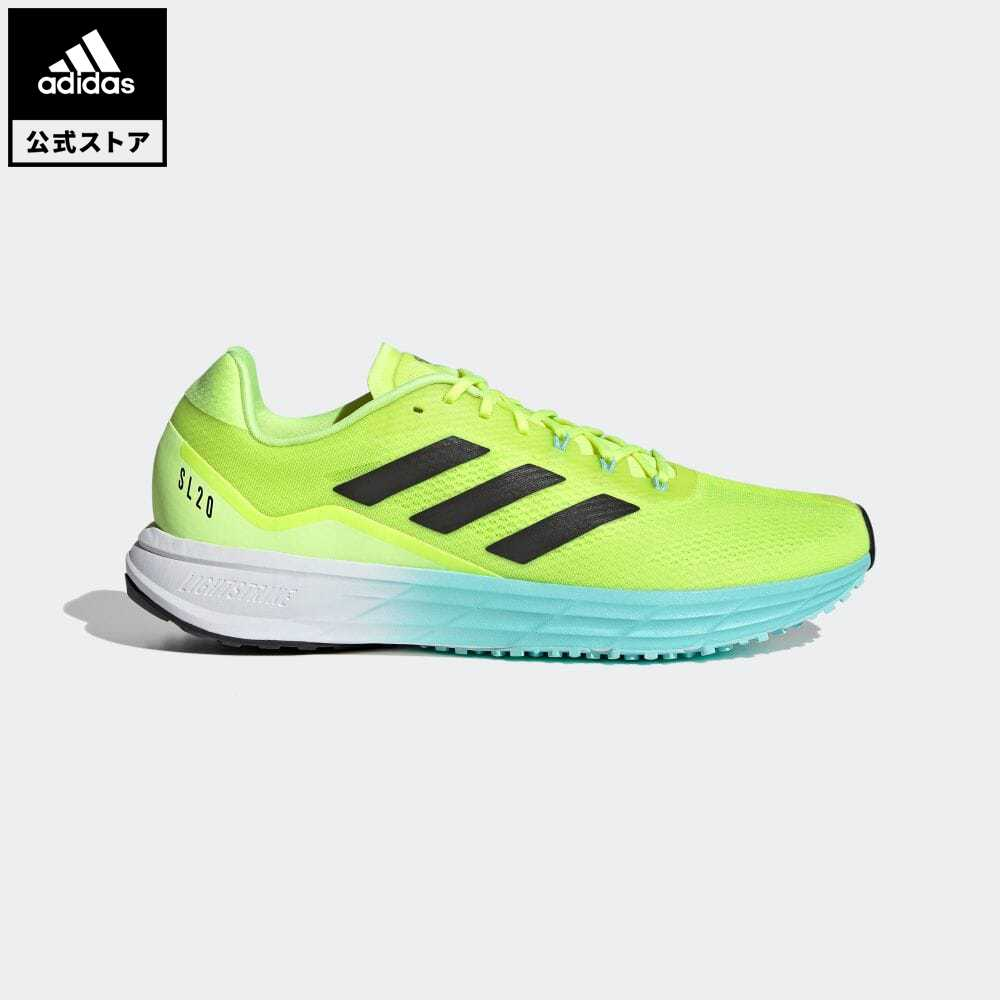 【送料無料】公式セール セール価格 SL20 【公式】アディダス adidas 返品可 ランニング SL20 メンズ シューズ・靴 スポーツシューズ イエロー FW9297 トレーニングシューズ ランニングシューズ