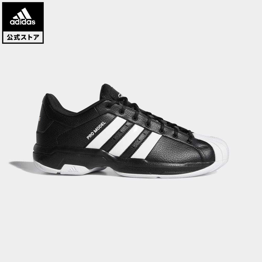 送料無料 公式セール セール価格 プロモデル 買い物 公式 アディダス adidas 返品可 バスケットボール 2G ロー Pro Model シューズ 黒 バッシュ Low レディース スポーツシューズ FX4980 新商品 新型 靴 メンズ ブラック