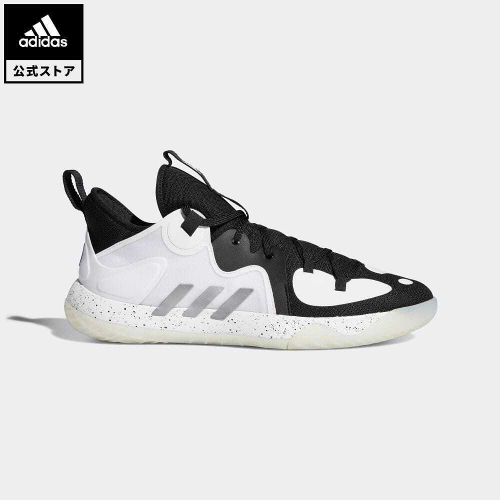 送料無料 公式セール ハーデン summersale0806 公式 アディダス adidas 税込 返品可 ※ラッピング ※ バスケットボール ステップバック 2 バッシュ メンズ 靴 Harden Stepback ブラック スポーツシューズ FZ1384 黒 シューズ レディース