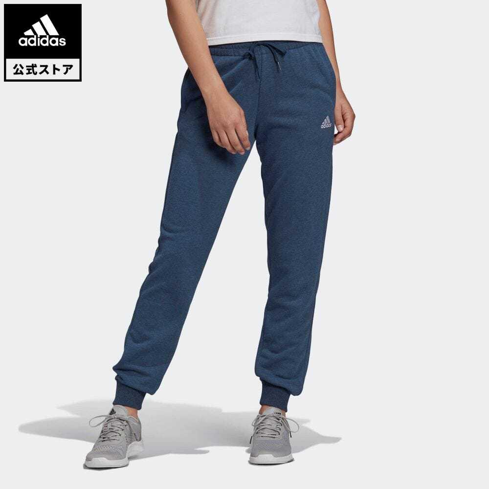 公式セール エッセンシャルズ summersale0806 SEAL限定商品 永遠の定番 公式 アディダス adidas 返品可 フレンチテリー ロゴ パンツ Essentials ボトムス ウェア 服 GM5617 スウェット French Pants Terry Logo トレーナー レディース