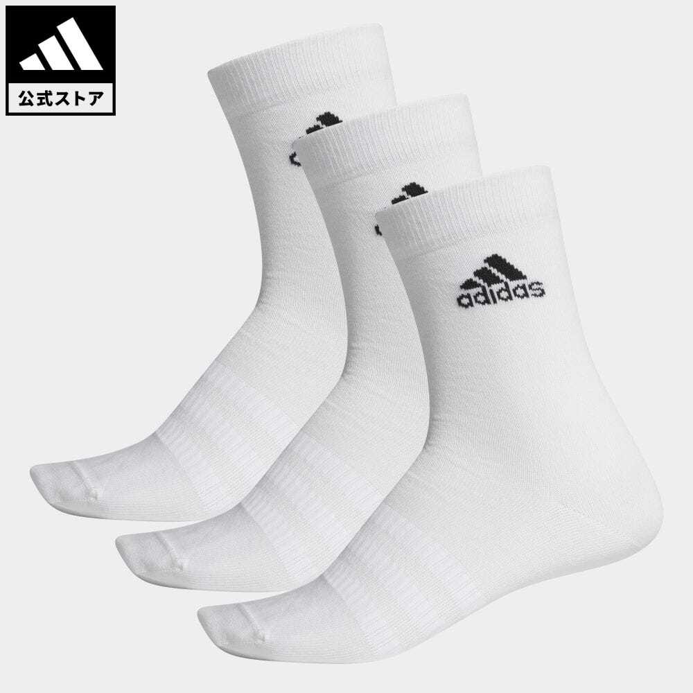 公式セール セール価格 公式 アディダス adidas 返品可 ジム トレーニング クルーソックス 安い 激安 プチプラ 高品質 3足組 Crew メンズ ホワイト 靴下 DZ9393 Pairs 白 ソックス アクセサリー Socks レディース 3 大規模セール