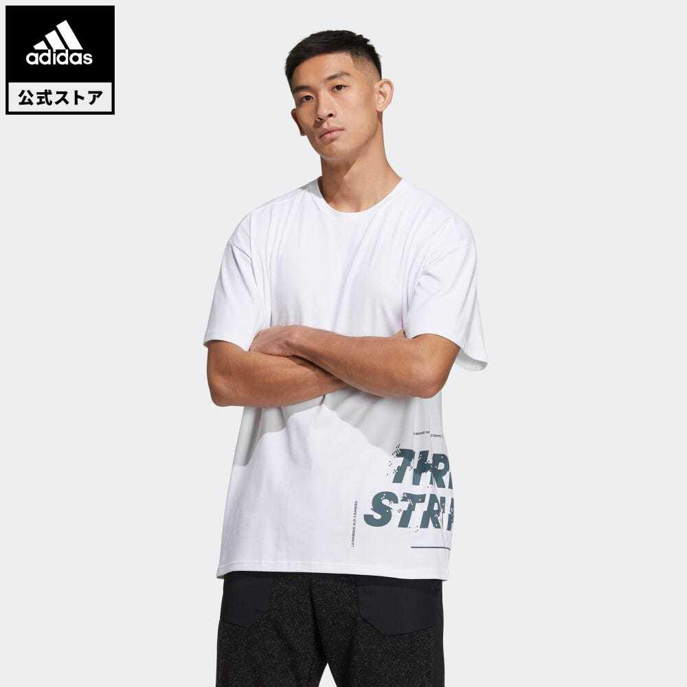公式セール セール価格 【公式】アディダス adidas 返品可 ワード 半袖Tシャツ / Word Tee アスレティクス メンズ ウェア・服 トップス Tシャツ 白 ホワイト GL8710 半袖
