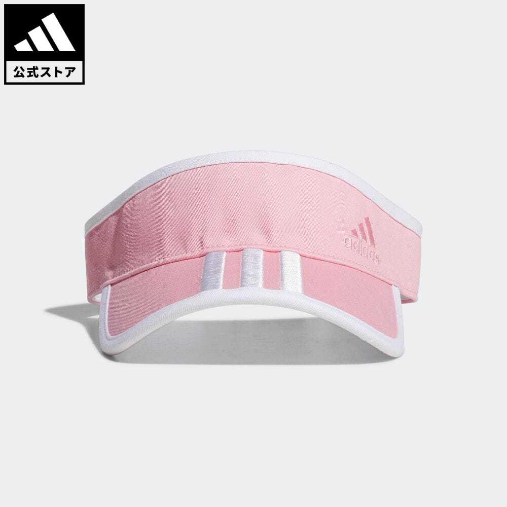 公式 アディダス adidas 返品可 ゴルフ ウィメンズ スリーストライプツイルバイザー Twill 超美品再入荷品質至上 GL8771 帽子 ピンク レディース notp Visor サンバイザー 大放出セール アクセサリー