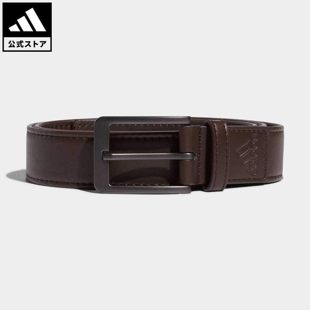 激安格安割引情報満載 送料無料 公式 アディダス adidas 返品可 ゴルフ ●スーパーSALE● セール期間限定 ストレッチPUベルト Stretch GJ7225 ブラウン notp メンズ アクセサリー ベルト Belt