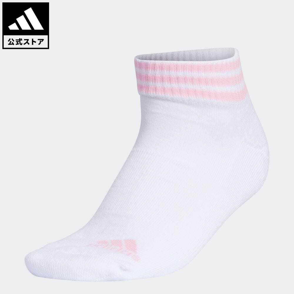 スリー ストライプス 公式 アディダス adidas 返品可 ゴルフ ウィメンズ スリーストライプ 今ダケ送料無料 アンクルソックス 3-Stripes GL8812 Ankle 白 選択 notp Socks 靴下 レディース ソックス アクセサリー ホワイト