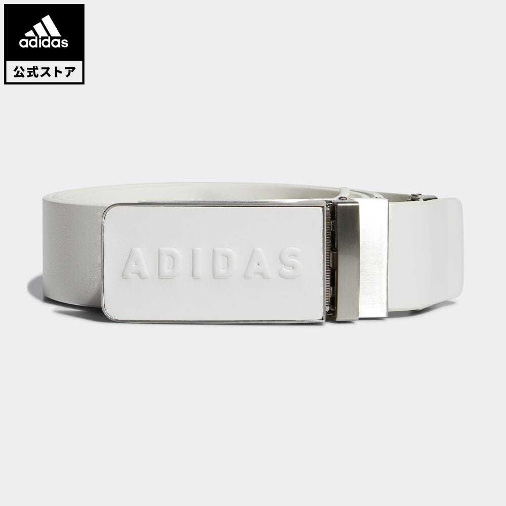 送料無料 公式 アディダス adidas 引出物 返品可 ゴルフ プレーンバックルレザーベルト 中古 Leather No-Hole Belt ホワイト ベルト 白 notp メンズ GL8828 アクセサリー