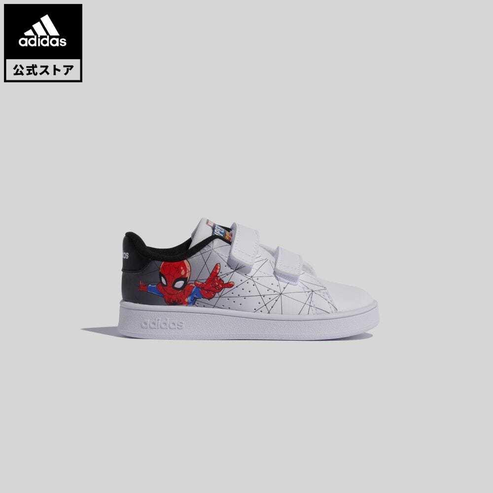 公式セール セール価格 エッセンシャルズ 【公式】アディダス adidas 返品可 テニス アドバンコート / Advancourt キッズ シューズ・靴 スニーカー 白 ホワイト FY9253 whitesneaker テニスシューズ ローカット