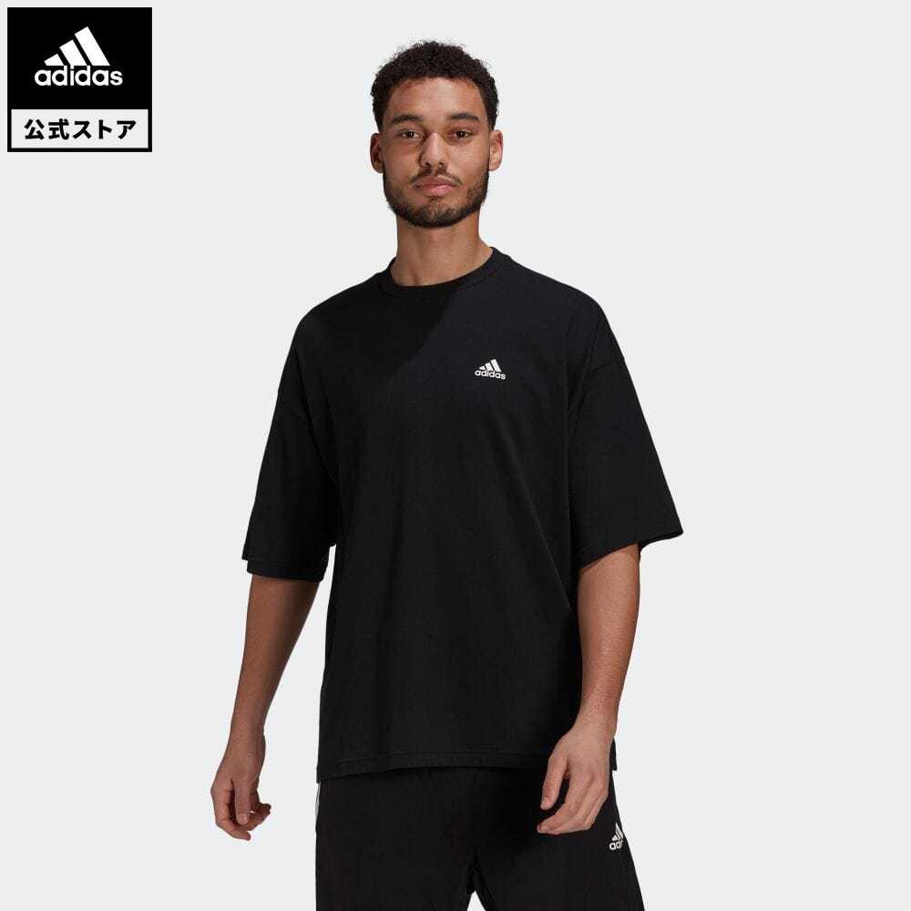 公式セール セール価格 バレンタイン 【公式】アディダス adidas 返品可 半袖Tシャツ / Tee アスレティクス メンズ ウェア・服 トップス Tシャツ 黒 ブラック H61130 半袖