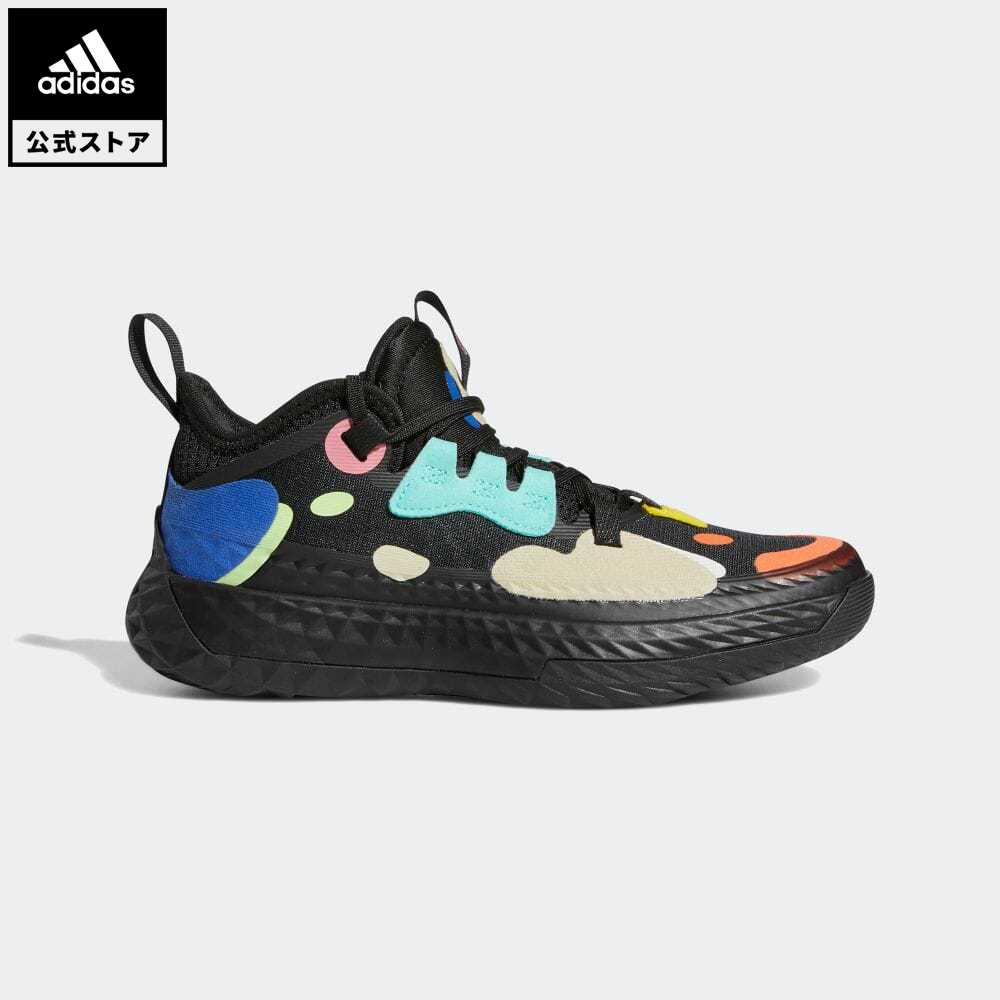 送料無料 公式セール 品質保証 ハーデン VOL. 5#ハーデン summersale0806 商品 公式 アディダス adidas 返品可 バスケットボール Vol. FX8666 黒 Vol.5 スポーツシューズ ブラック キッズ シューズ 5 Harden バッシュ 靴
