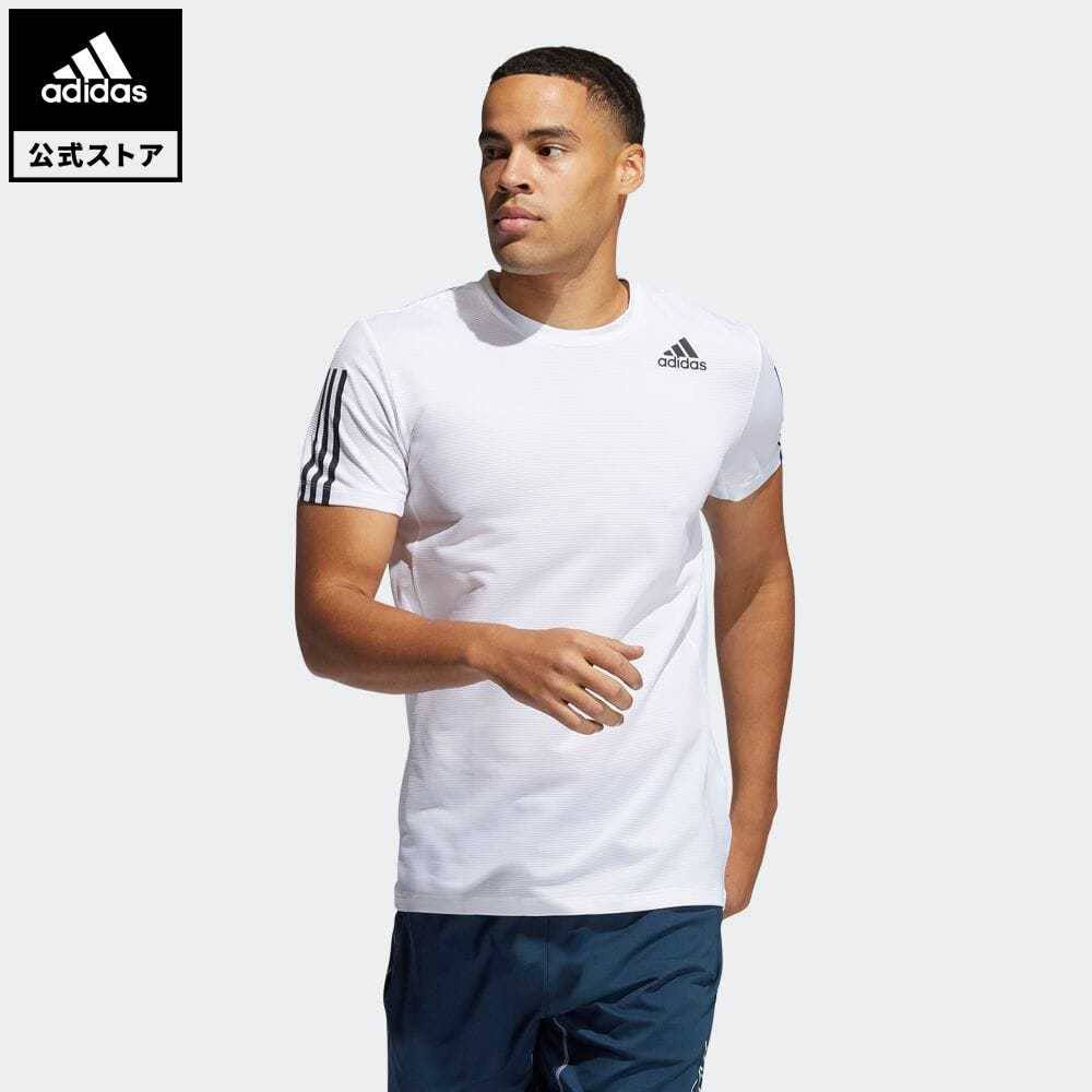 公式セール セール価格 Primeblue スリー ストライプス 公式 アディダス adidas 返品可 市場 ジム トレーニング PRIMEBLUE AEROREADY 3ストライプス ウェア メンズ Tee 白 半袖 Tシャツ GQ2164 買収 スリム半袖Tシャツ Slim 3-Stripes トップス ホワイト 服