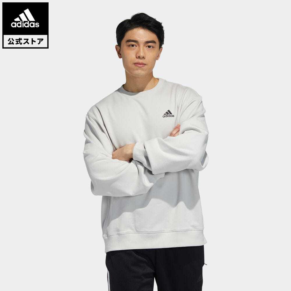 公式セール セール価格 【公式】アディダス adidas 返品可 バッジ オブ スポーツ スウェットシャツ / Badge of Sport Sweatshirt アスレティクス レディース メンズ ウェア・服 トップス スウェット(トレーナー) グレー H37068