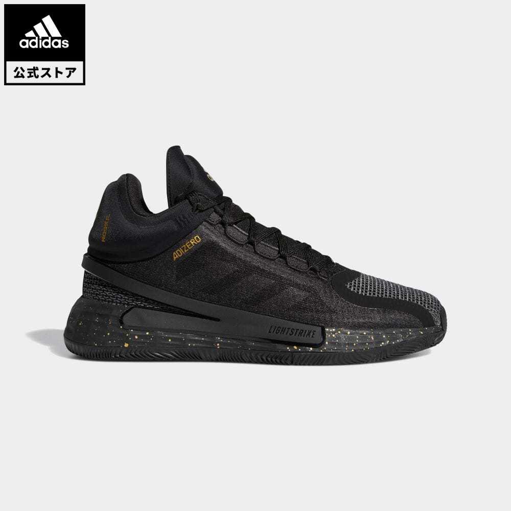 送料無料 マーケティング 業界No.1 公式セール セール価格 ローズ 公式 アディダス adidas 返品可 バスケットボール D FZ1544 シューズ バッシュ ROSE 靴 黒 メンズ 11 ブラック スポーツシューズ