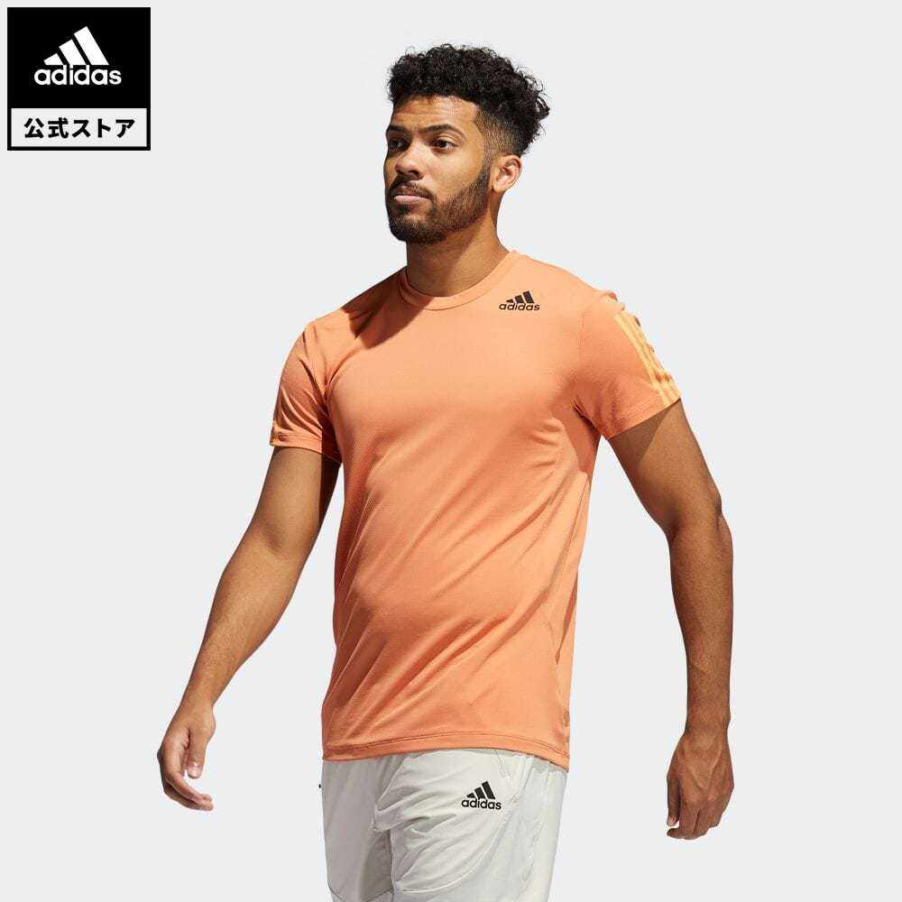 公式セール セール価格 スリー ストライプス 公式 アディダス adidas 返品可 専門店 ジム トレーニング HEAT. RDY 激安セール GP7652 トップス 服 半袖 3ストライプス Tシャツ メンズ ウェア Tee 3-Stripes 半袖Tシャツ