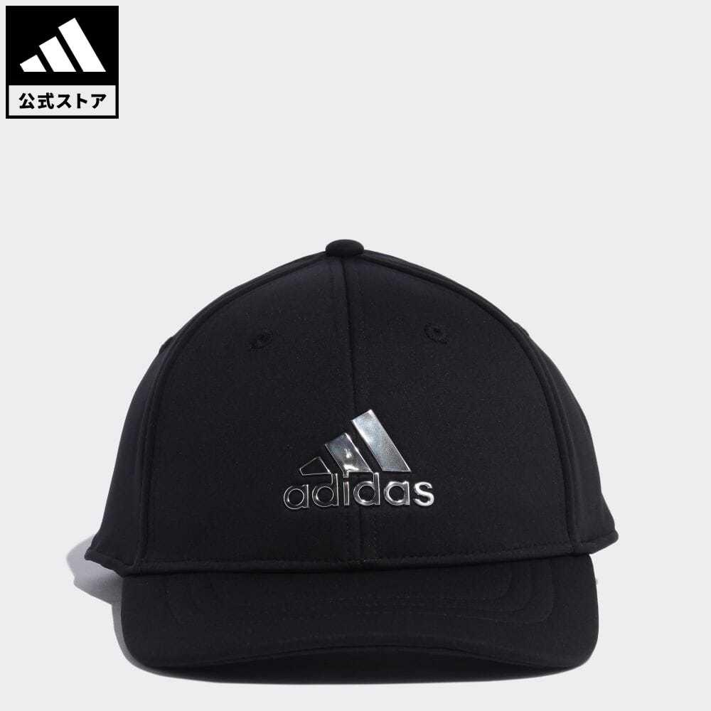 公式セール セール価格 公式 アディダス 毎日激安特売で 営業中です adidas 返品可 ゴルフ メタルロゴキャップ メンズ ブラック キャップ 黒 notp GQ3207 アクセサリー 帽子 mss21fw