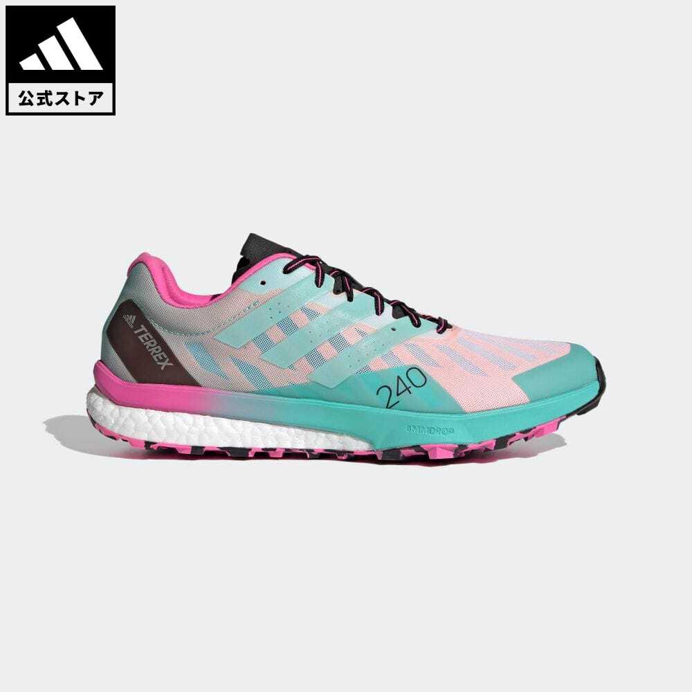 【送料無料】公式セール セール価格 【公式】アディダス adidas 返品可 アウトドア テレックス スピード ウルトラ トレイルランニング / Terrex Speed Ultra Trail Running アディダス テレックス メンズ シューズ・靴 スポーツシューズ 白 ホワイト FW2806