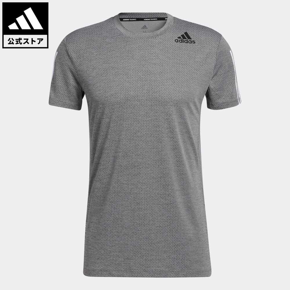 !超美品再入荷品質至上! 公式セール セール価格 スリー ストライプス 公式 アディダス adidas 返品可 ジム トレーニング HEAT. RDY 半袖 3ストライプス 服 半袖Tシャツ Tee GP7655 トップス Tシャツ 待望 ウェア メンズ 3-Stripes