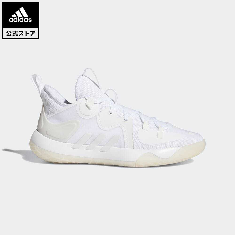 送料無料 公式セール セール価格 ハーデン 公式 アディダス adidas 返品可 バスケットボール ステップバック 2 Harden 白 FZ1385 レディース ハイクオリティ メンズ スポーツシューズ シューズ バッシュ 靴 ホワイト 商店 Stepback