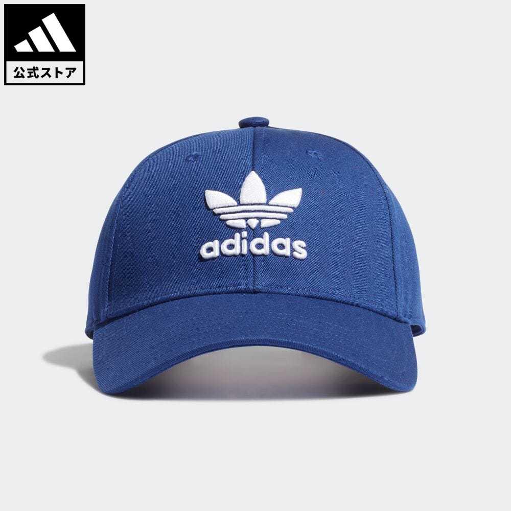 スペースレース アディカラー 公式 アディダス adidas 返品可 トレフォイル ベースボールキャップ オリジナルス ブルー アクセサリー H34569 帽子 レディース 青 キャップ メンズ 値下げ !超美品再入荷品質至上!