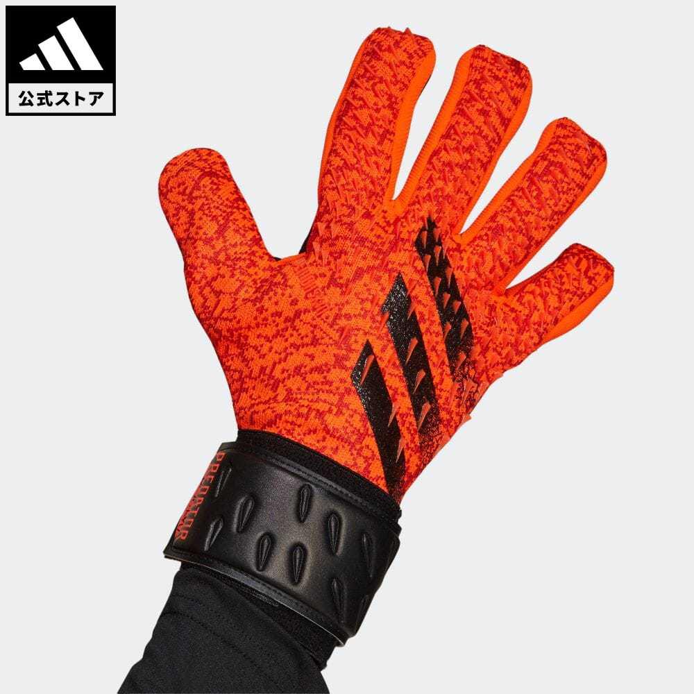 送料無料 プレデター 公式 アディダス adidas お見舞い 高級品 返品可 サッカー リーグ ゴールキーパーグローブ GR1528 レディース メンズ 赤 アクセサリー レッド グローブ 手袋 キーパーグローブ