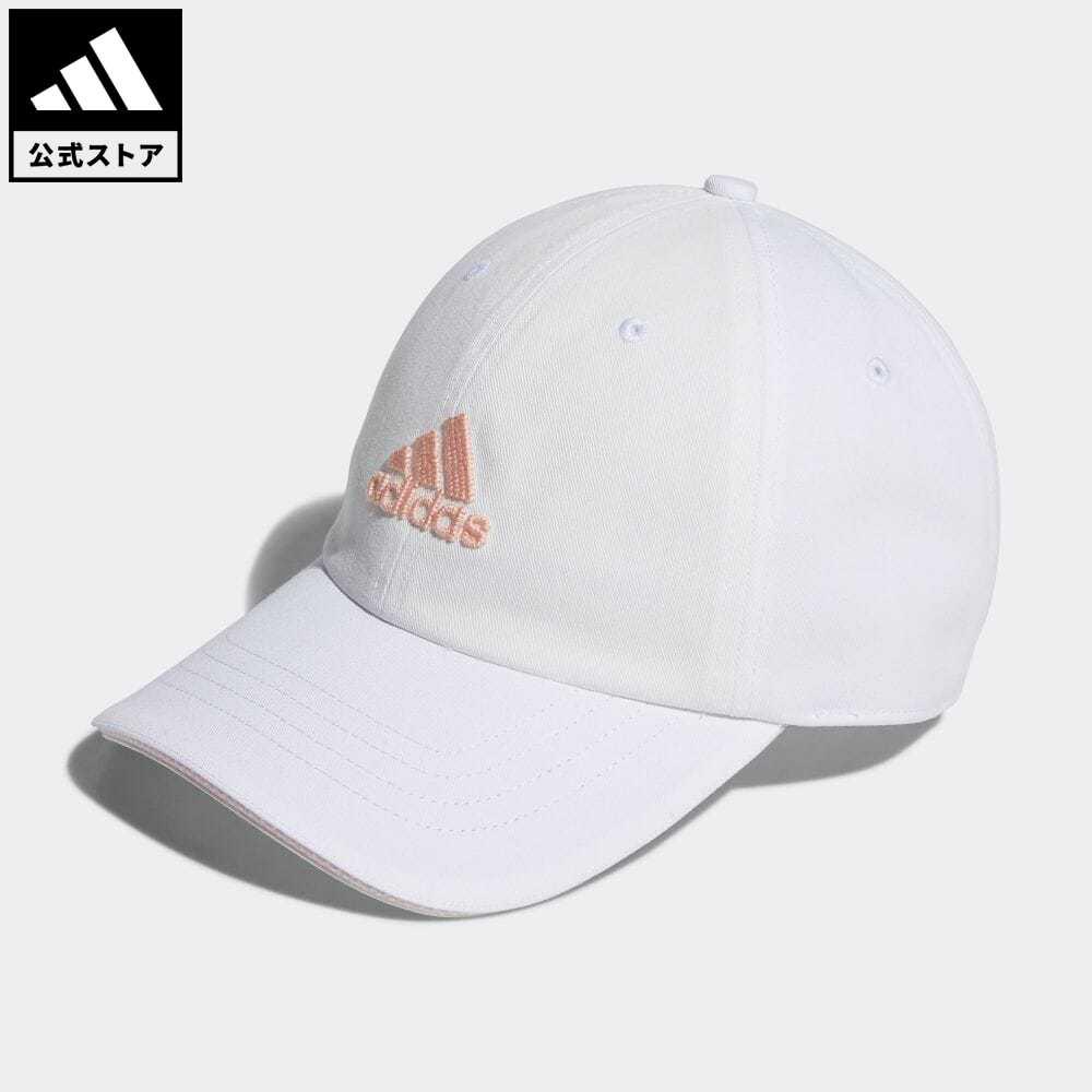 公式 アディダス adidas 返品可 ゴルフ UVカット コットンキャップ 新作通販 ホワイト アクセサリー 帽子 GU6183 レディース キャップ 白 買い取り
