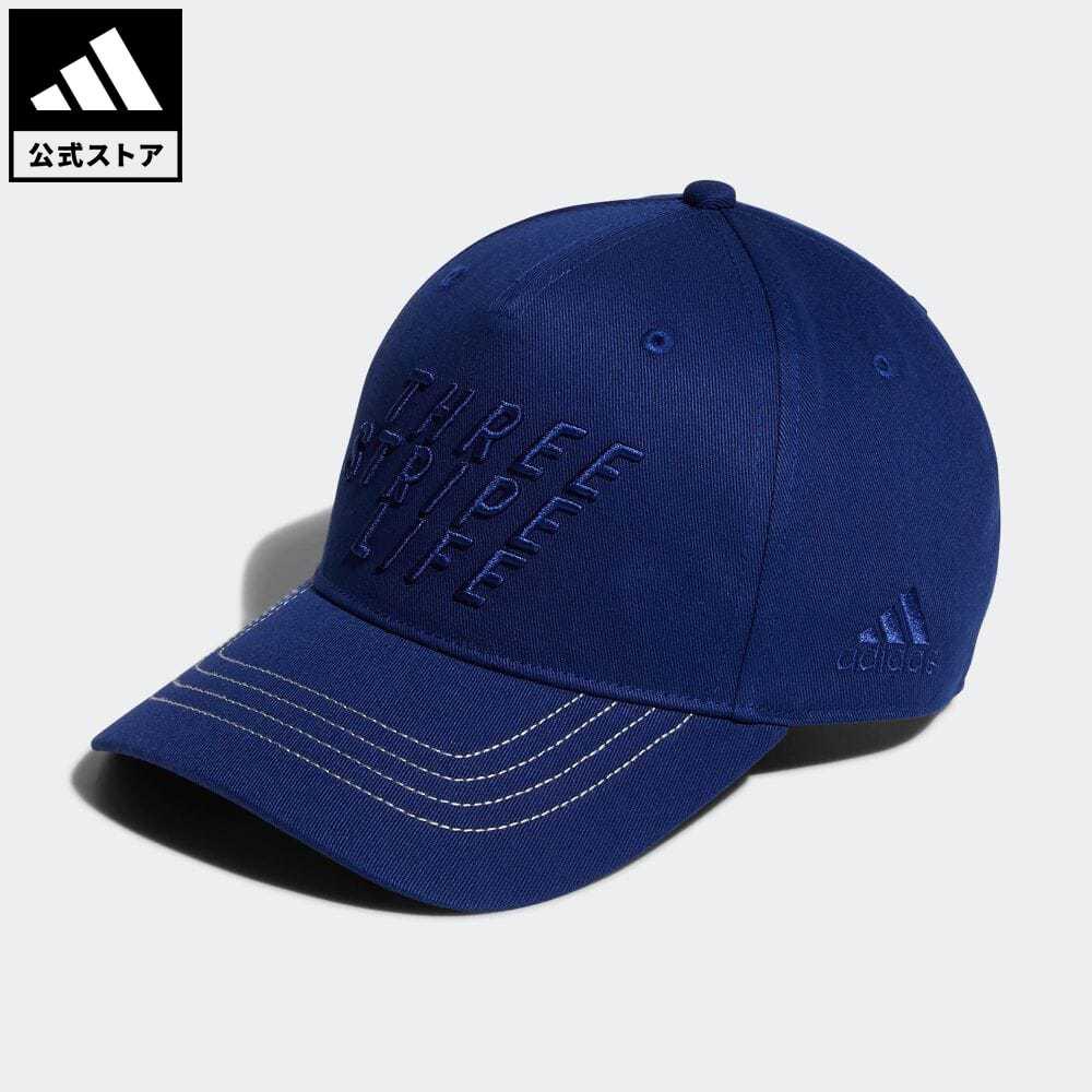 公式 アディダス adidas 返品可 ゴルフ UVカット スリーストライプライフ 初回限定 コットンキャップ アクセサリー 青 記念日 キャップ 帽子 ブルー GU8645 メンズ