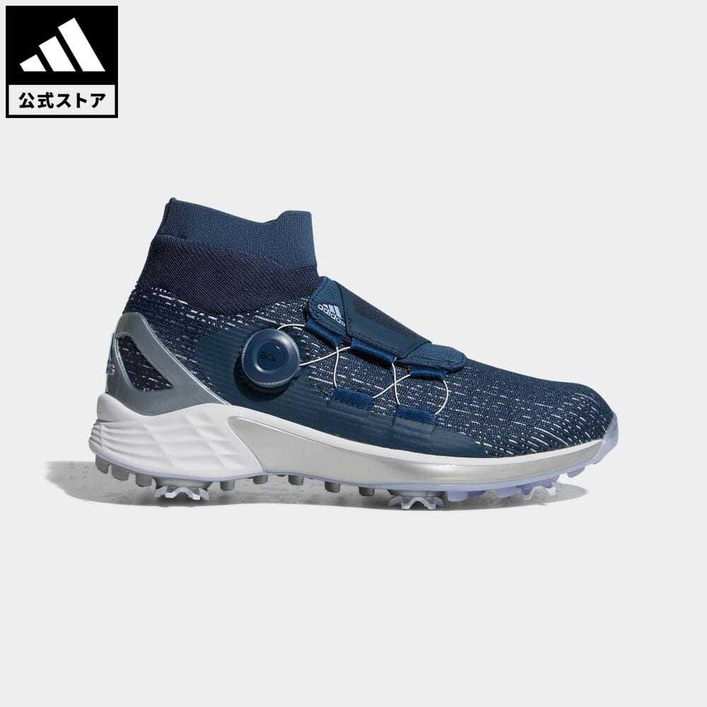 送料無料 本日限定 ZG21 公式 アディダス adidas 返品可 ゴルフ ウィメンズ ゼッドジー21モーション ボア W Motion スポーツシューズ ブルー FZ2190 BOA 青 海外限定 靴 レディース シューズ