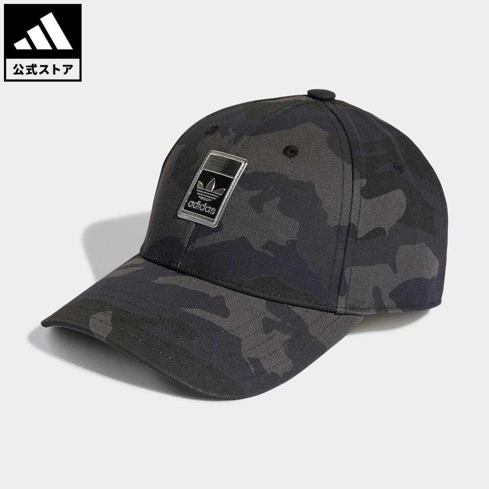 安全 公式 アディダス 新品 adidas 返品可 カモ ベースボールキャップ オリジナルス レディース H25290 アクセサリー グレー 帽子 キャップ メンズ