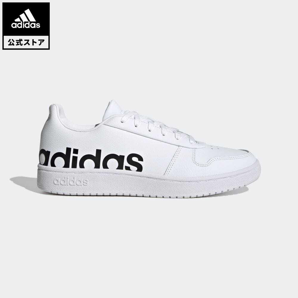 送料無料 フープス エッセンシャルズ 最新 公式 アディダス adidas 返品可 バスケットボール 2.0 スニーカー GZ9118 ホワイト ローカット Hoops 靴 メンズ 超激安 白 シューズ