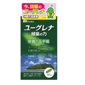 明治薬品 ユーグレナ緑皇の力100粒 約33日分(1日3粒使用)