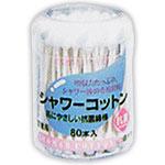 シャワー後の専用綿棒 驚きの値段で 白十字FCシャワーコットン綿棒 (訳ありセール 格安) 80本
