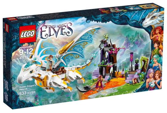 【送料無料】LEGO レゴ41179 エルフ 女王ドラゴンの救出